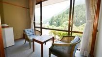 *【和室10畳のお部屋】 窓からの眺め