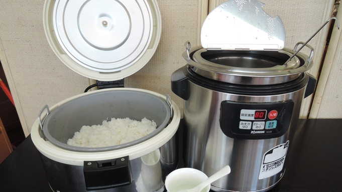 【朝食付き】朝は健康的な和朝食を♪お代わり自由なメニューも!