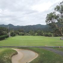 *当館に隣接しているゴルフコースは広大な18ホール!
