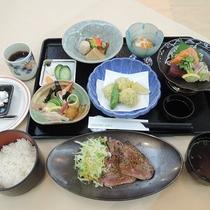 *【夕食一例】旬の食材を使った和洋折衷の【豊田湖会席】をご用意致します。