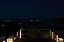屋上・夜間