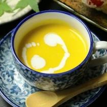 夕食_すくなかぼちゃのスープ