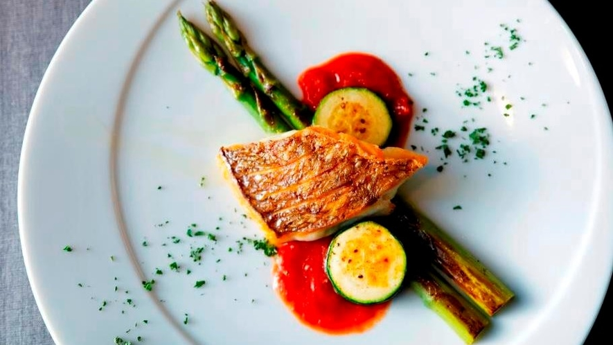 レストラン「Tura」のお食事例 アラカルト