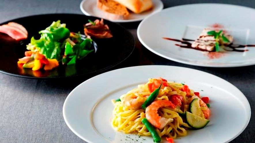 レストラン「Tura」のお食事 セットメニュー パスタセット