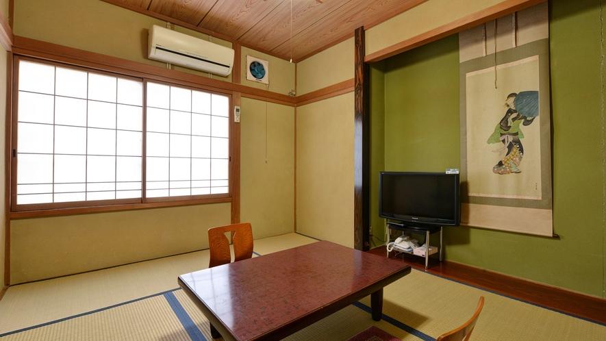 *【部屋一例/和室6畳】田舎に帰ったかのようにごゆっくりお寛ぎください。