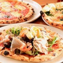 【ランチピザ】ランチタイムに「友悠」自慢の手作りピザを楽しみませんか。
