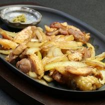 【夕食】種子島にしかいないインギー鶏の地鶏焼き