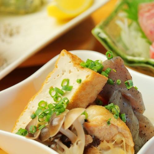 【夕食一例】美味しいお酒と共に味わってほしい手作りの一品料理★