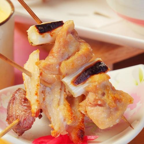 【夕食一例】焼き鳥はいかがでしょうか♪