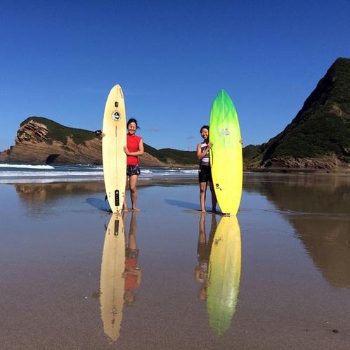 種子島でのサーフィンは最高です!