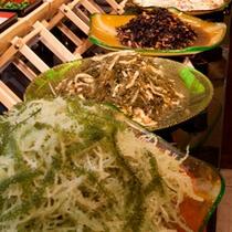 ◇豊富な沖縄長寿食メニュー