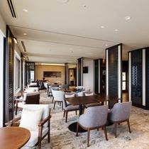 【クラブラウンジ店内】クラブフロアへご宿泊のお客様だけにご利用いただける特別な空間です。