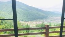 安芸太田町の自然豊かなマウンテンビューを一望できます。