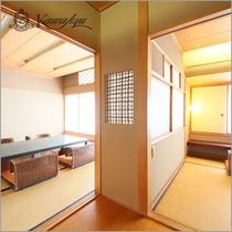 カワキュウスイート和洋室一例