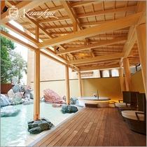 温泉サロン ロイヤルスパ「悠久の森」_露天風呂
