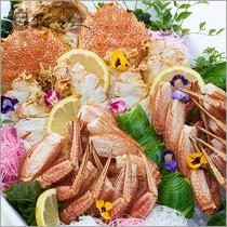 【王様のビュッフェ秋】毛蟹のボイル※イメージ