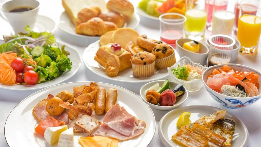 【朝食ビュッフェ】※イメージ