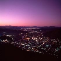 出石の夜景