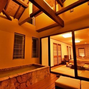 和室11畳,寝床5畳,露天付きテラス9畳「つばき」49平米