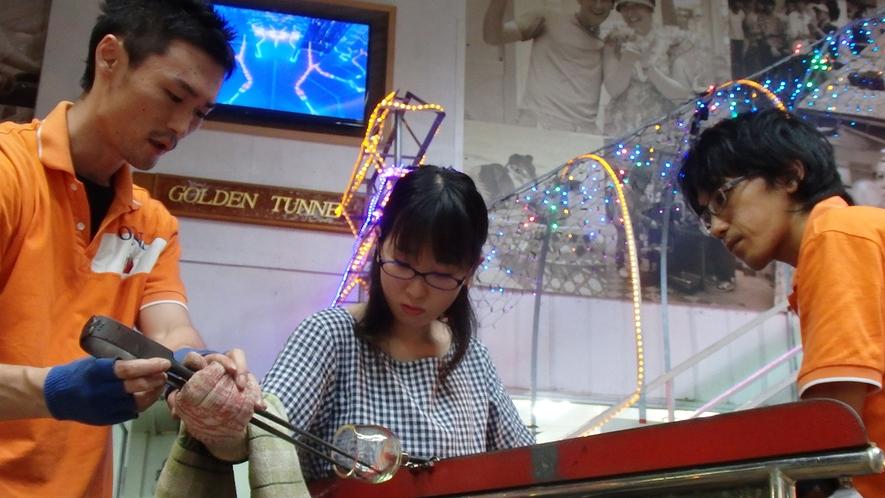 【琉球ガラス体験】素朴で温かみのあるフォルムと、ひとつひとつ手作りであることが琉球ガラスの魅力☆