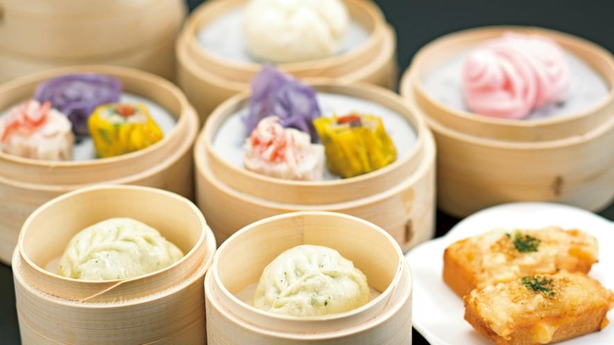 【中国料理・舜天】人気メニューの点心は皮も手作り。熱々をお席にお持ちします。