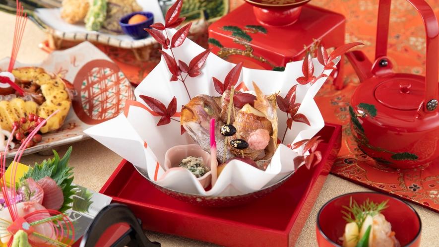 【日本料理・富士】結納、タンカーユーエーや100日記念・お食い初めなど様々な行事、記念日に。