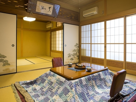 【2階】眺望なし和室(8畳+8畳)(ウォシュレットトイレ)