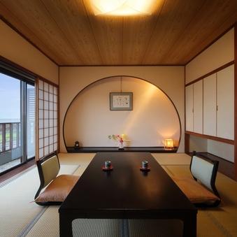 眺望の良い「煌き亭」(2Fバストイレ付き客室/禁煙)