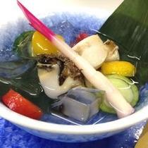 アワビの水貝
