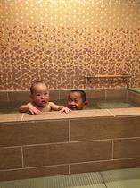 リニューアルした畳敷きの家族風呂「和ぎの湯」