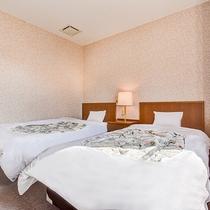 *【ペンション/ツイン】温かみのある内装と、清潔感のあるお部屋で快適にお過ごしください