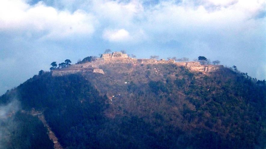 *【竹田城跡】人気の天空の城「竹田城」へは車で約30分です