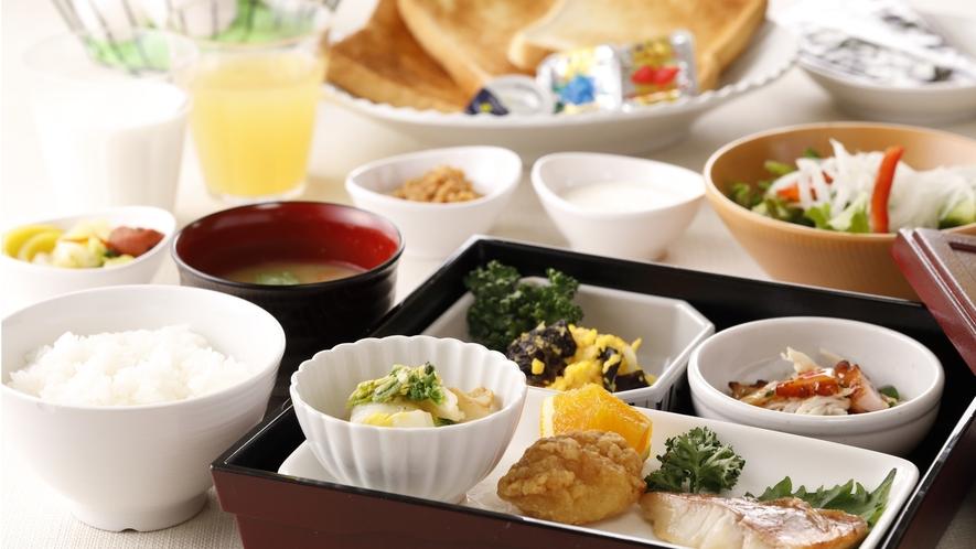 朝食時間:6:00~9:30。手作りにこだわった日替わり朝食。