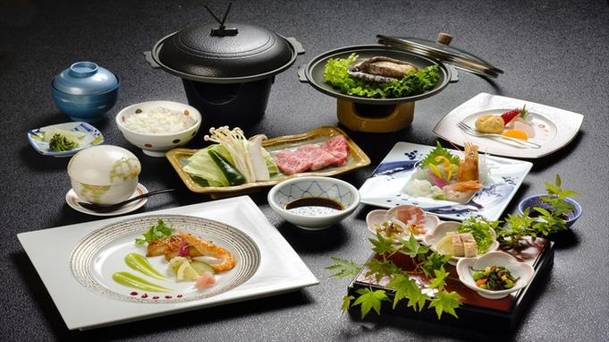 山海の幸!アワビの踊り焼きも熊野牛も味わえるプレミアムプラン!