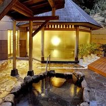 【露天風呂】お風呂は24時間入浴OK♪上質な≪甘露の湯≫を露天風呂でお愉しみ下さい。