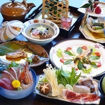 【夕食一例・春】春の味覚もたっぷり使用した春会席をお楽しみ下さい♪