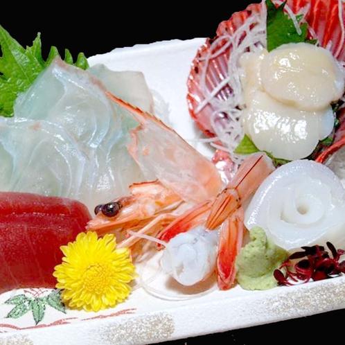 【お造りの一例】南紀白浜の「海の幸」を贅沢に味わいください!