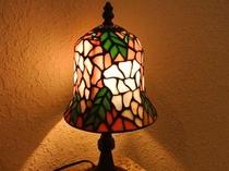 【ツイン】枕元にも旅の疲れを癒す優しいランプを☆