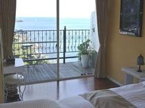 【スーペリア】目が覚めたらベッドから海が見える、贅沢な休日!