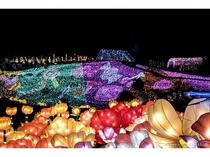 グランイルミは世界でも類を見ない高密度イルミネーション♪400万球の幻想的な世界です☆