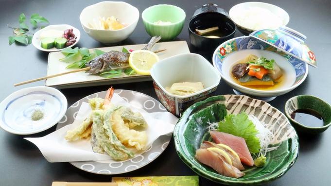 【スタンダード】人気NO.1!『四季の料理』を満喫♪夕食22時まで対応可![お部屋食]