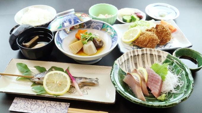 【リーズナブル】品数控えめ♪旬の川魚塩焼きがメインにお気軽価格で♪夕食22時まで対応可![お部屋食]