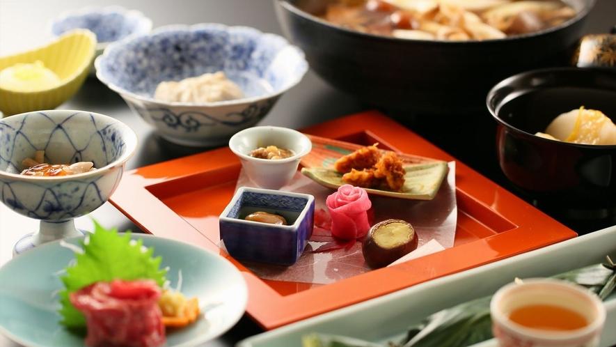 心を込めた和食創作料理で素材の旨味をご賞味ください♪