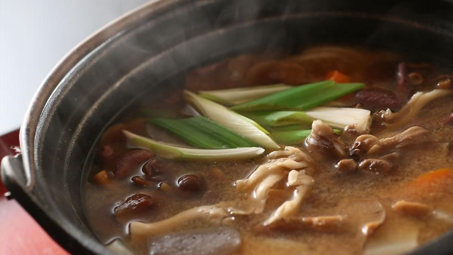 きのこ鍋(イメージ)