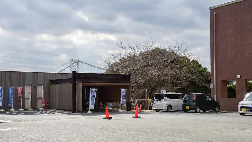 *【外観】瀬戸内海国立公園火の山の山麓に建つ当館。