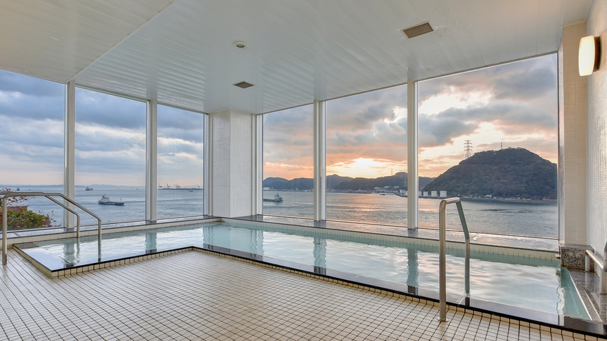 *【お風呂:周防】朝は6:00~10:00まで入浴可能です。
