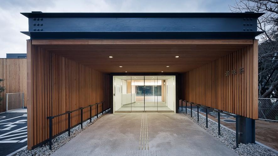 【外観】施設全体が関門海峡の眺望を大切にした造りになっております。