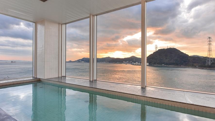 *【お風呂:周防】悠久の刻が流れる関門海峡の絶景を眺めながら♪