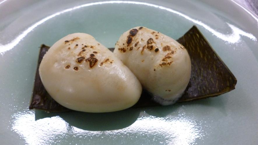【夕食一例:白子焼き】香ばしくてクリーミー