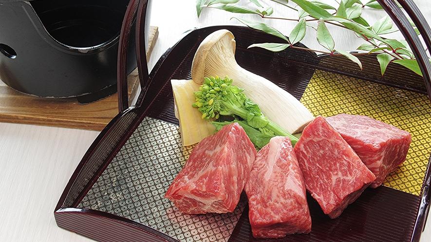 山口ブランド牛『燦(きらめき)』脂がのったジューシーな味わいをお愉しみ下さい。